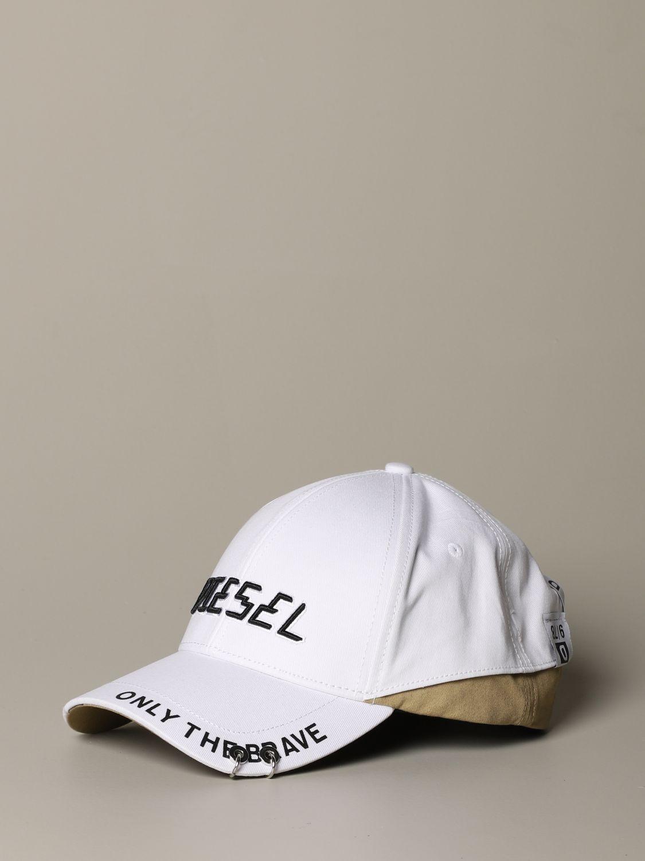 Cappello Diesel: Cappello uomo Diesel panna 1