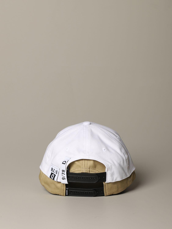 Cappello Diesel: Cappello uomo Diesel panna 3