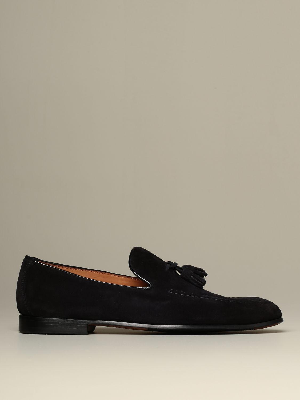 Loafers Doucal's: Shoes men Doucal's blue 1