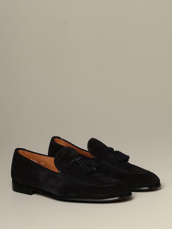 Loafers Doucal's: Shoes men Doucal's blue 2