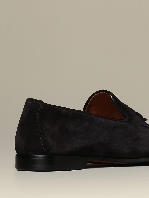 Loafers Doucal's: Shoes men Doucal's blue 3