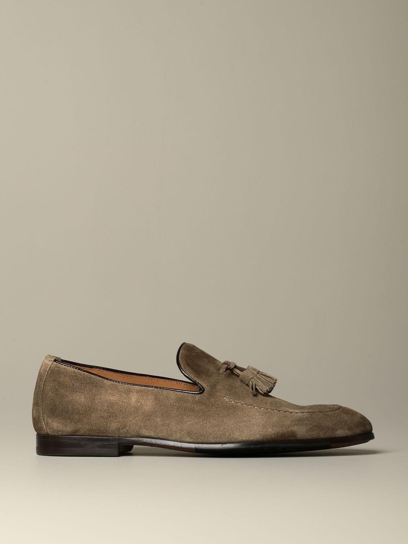 莫卡辛鞋 Doucal's: 鞋 男士 Doucal's 鸽子灰色 1