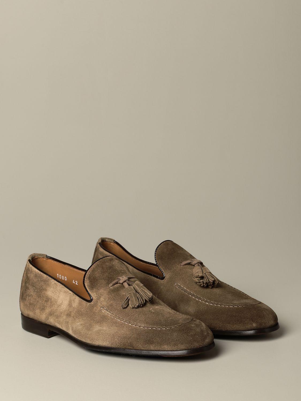 莫卡辛鞋 Doucal's: 鞋 男士 Doucal's 鸽子灰色 2