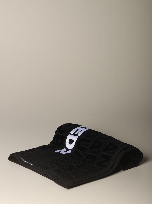 浴巾 Dsquared2: 浴巾 男士 Dsquared2 黑色 1