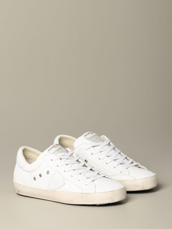 鞋 Philippe Model: 鞋 男士 Philippe Model 白色 2