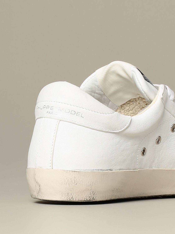 鞋 Philippe Model: 鞋 男士 Philippe Model 白色 3