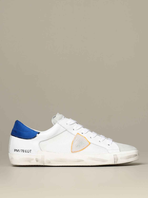 运动鞋 Philippe Model: 鞋 男士 Philippe Model 白色 1
