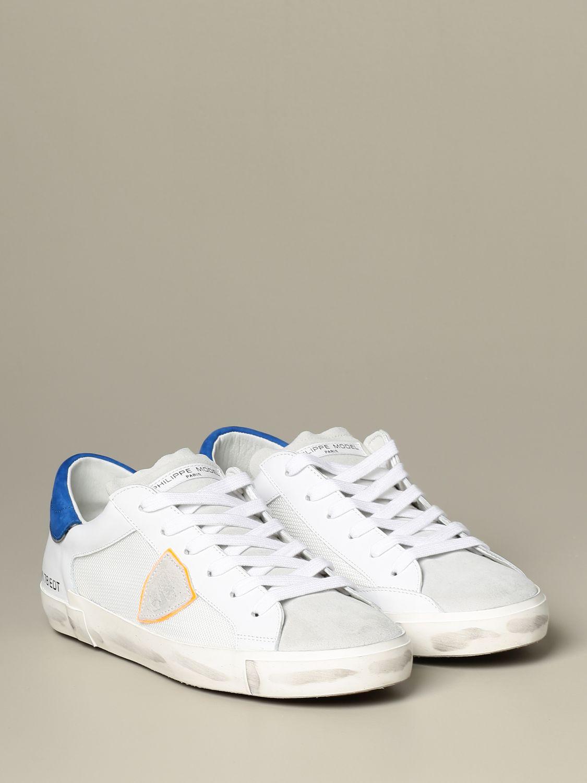 运动鞋 Philippe Model: 鞋 男士 Philippe Model 白色 2