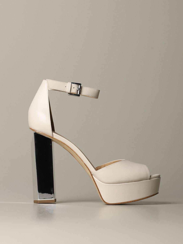 Heeled sandals women Michael Michael Kors ivory 1