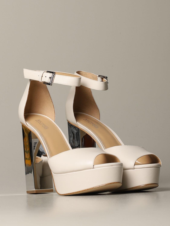 Heeled sandals women Michael Michael Kors ivory 2