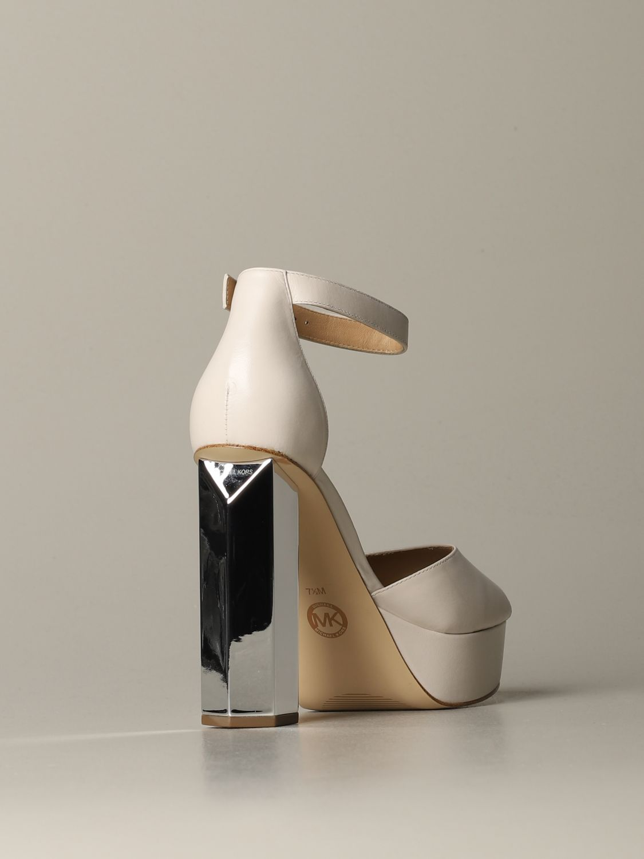 Heeled sandals women Michael Michael Kors ivory 3