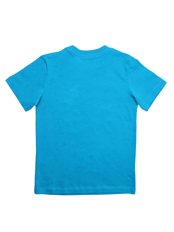 T-shirt Diesel: T-shirt Diesel con logo azzurro 2