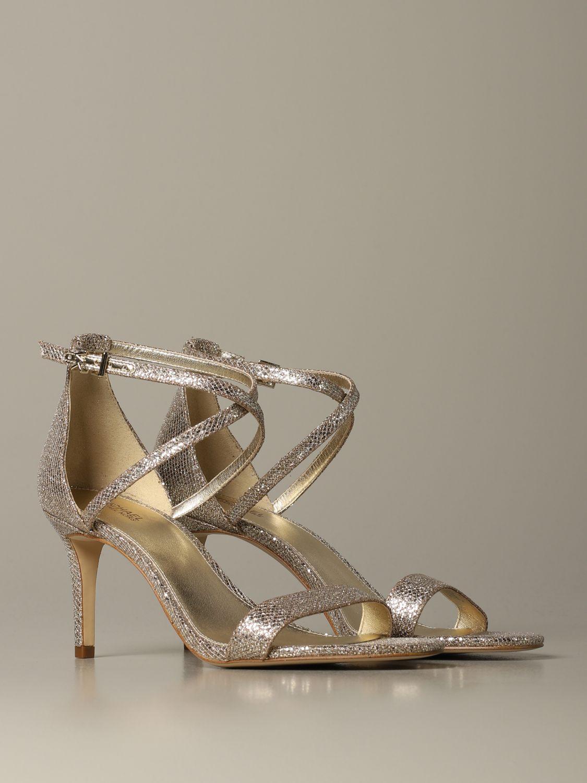 Schuhe damen Michael Michael Kors gold 2