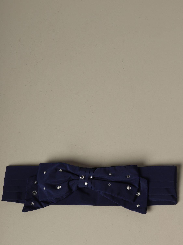 Belt women Philosophy Di Lorenzo Serafini blue 1