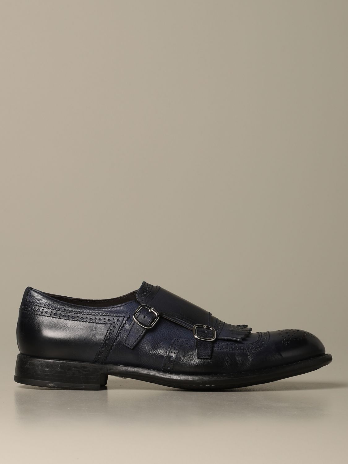 Brogue shoes Doucal's: Shoes men Doucal's blue 1
