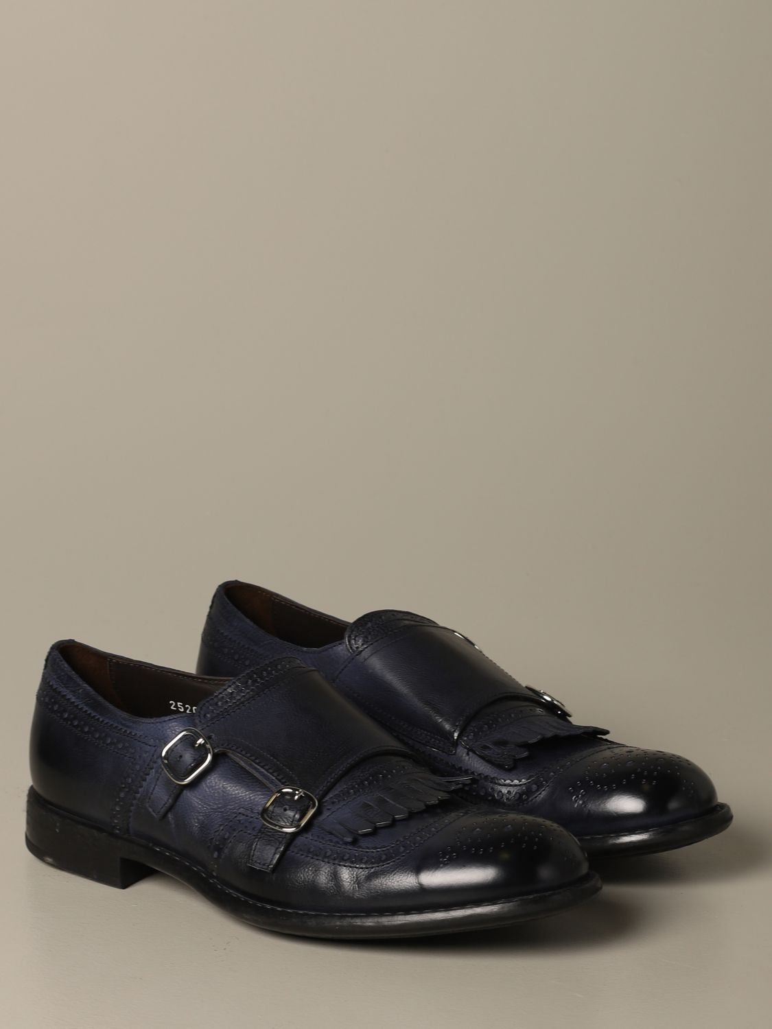 Brogue shoes Doucal's: Shoes men Doucal's blue 2