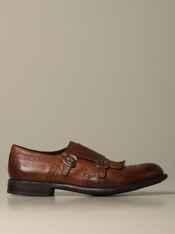 Оксфорды Doucal's: Обувь Мужское Doucal's коричневый 1