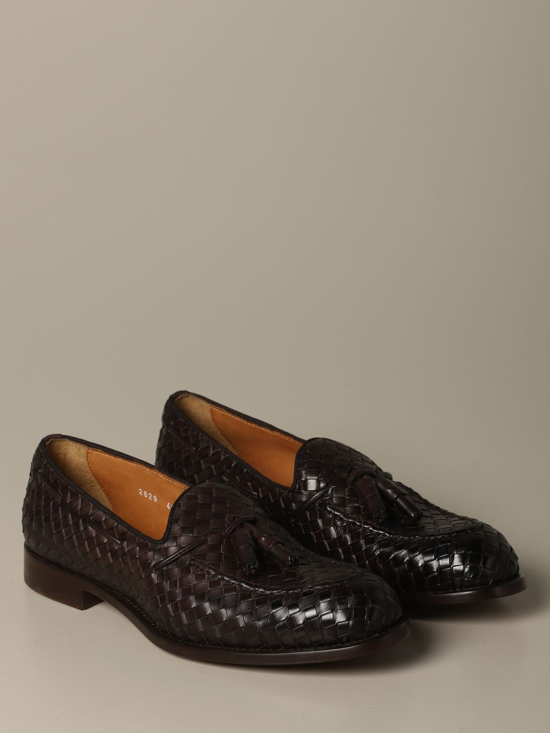 Loafers Doucal's: Shoes men Doucal's brown 2