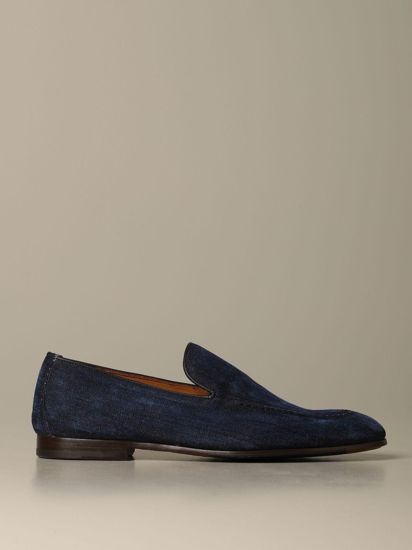 Loafers Doucal's: Shoes men Doucal's denim 1
