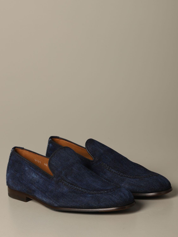 Loafers Doucal's: Shoes men Doucal's denim 2