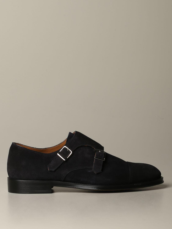Zapatos hombre Doucal's azul oscuro 1
