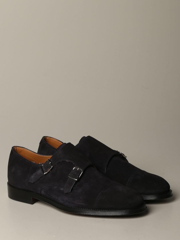 Zapatos hombre Doucal's azul oscuro 2