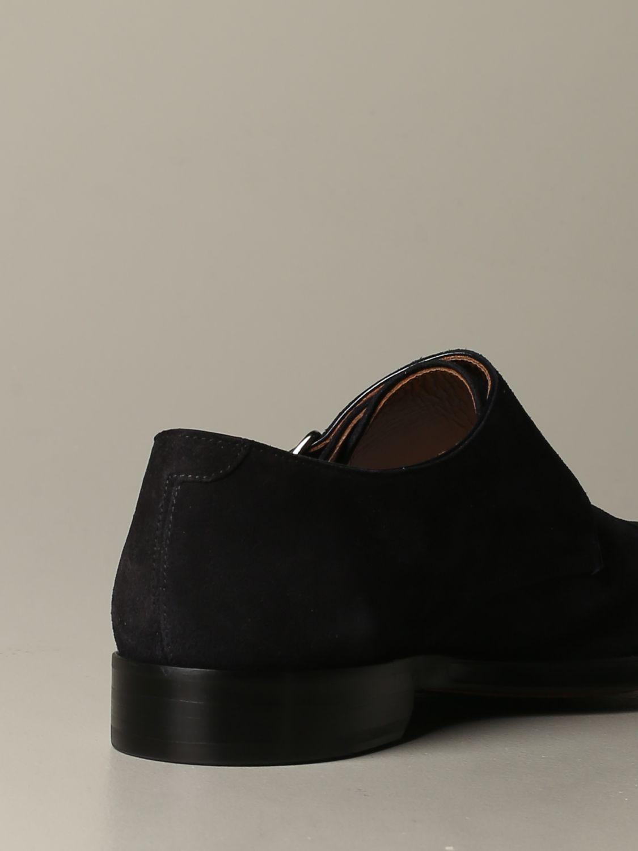 Zapatos hombre Doucal's azul oscuro 3
