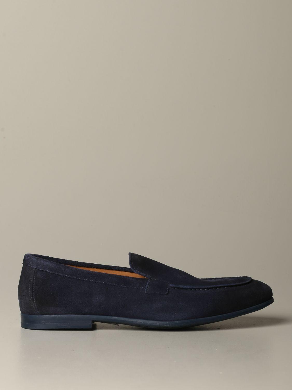 Mokassins Doucal's: Schuhe herren Doucal's blau 1