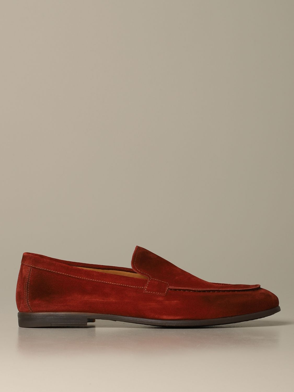 Loafers Doucal's: Shoes men Doucal's rust 1