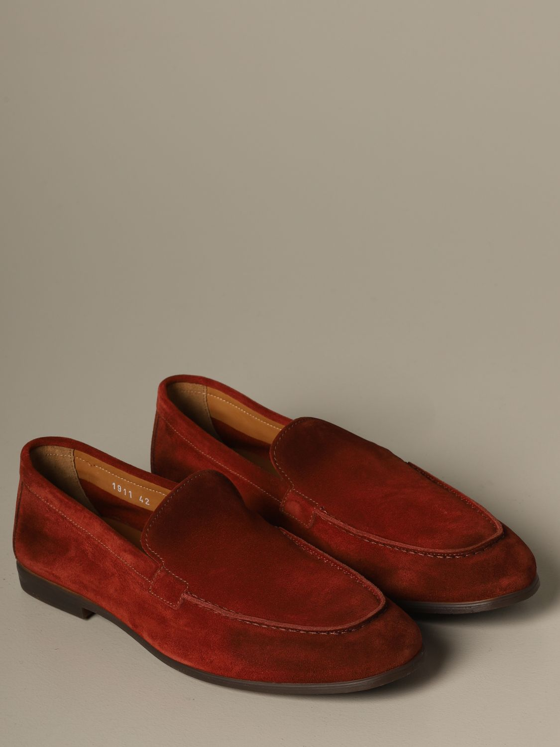 Loafers Doucal's: Shoes men Doucal's rust 2