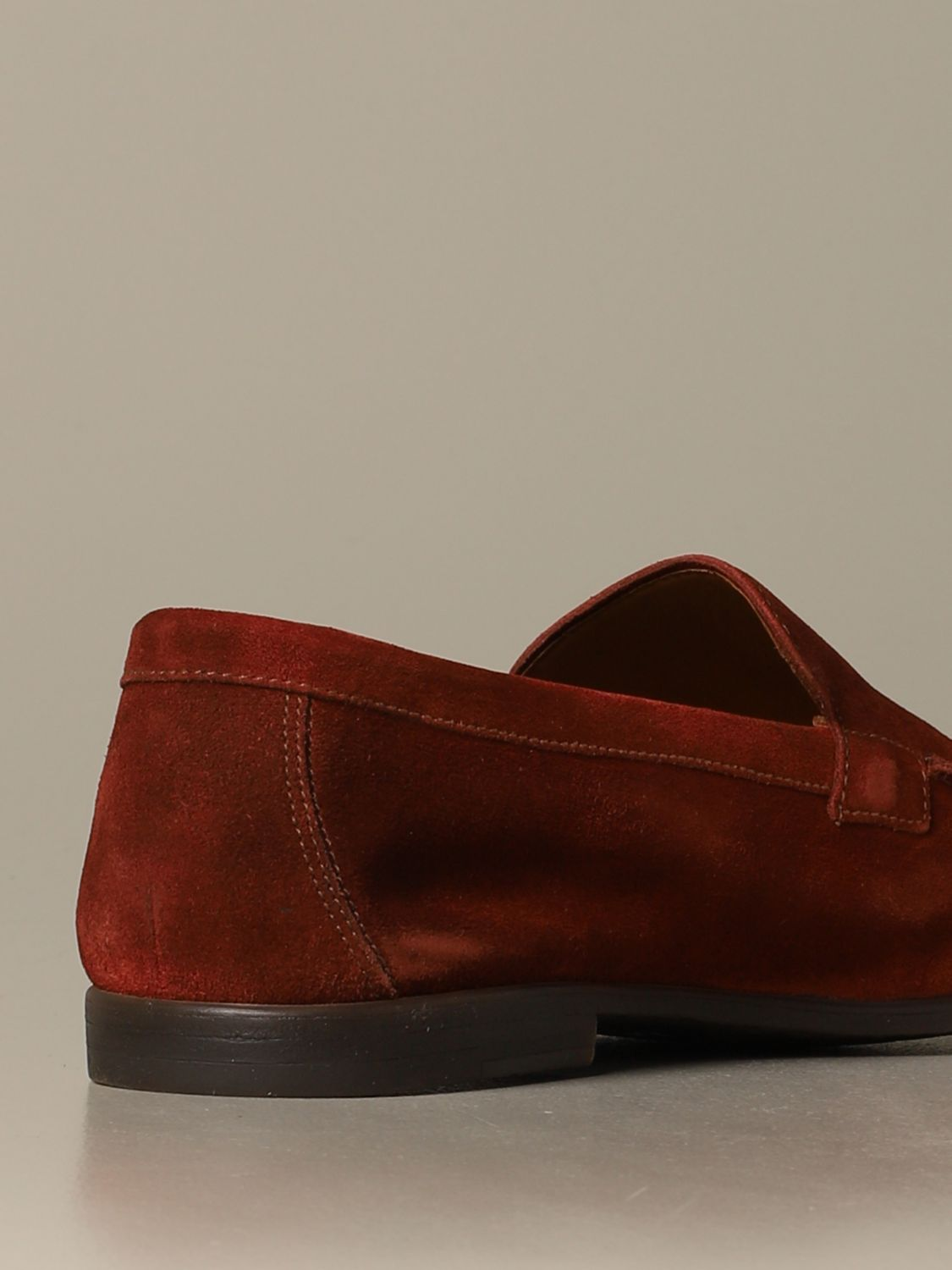 Loafers Doucal's: Shoes men Doucal's rust 3