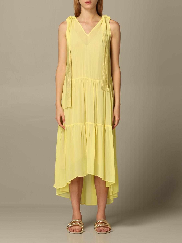 连衣裙 8Pm: 连衣裙 女士 8pm 黄色 1