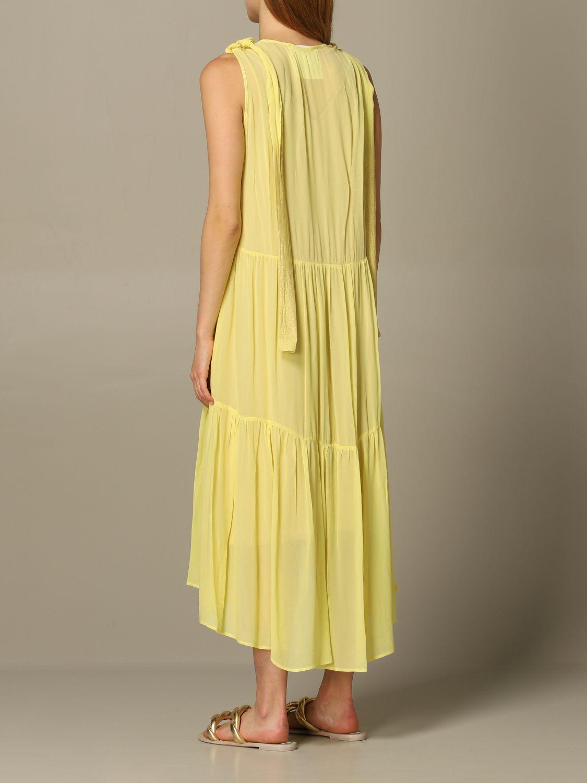 连衣裙 8Pm: 连衣裙 女士 8pm 黄色 2