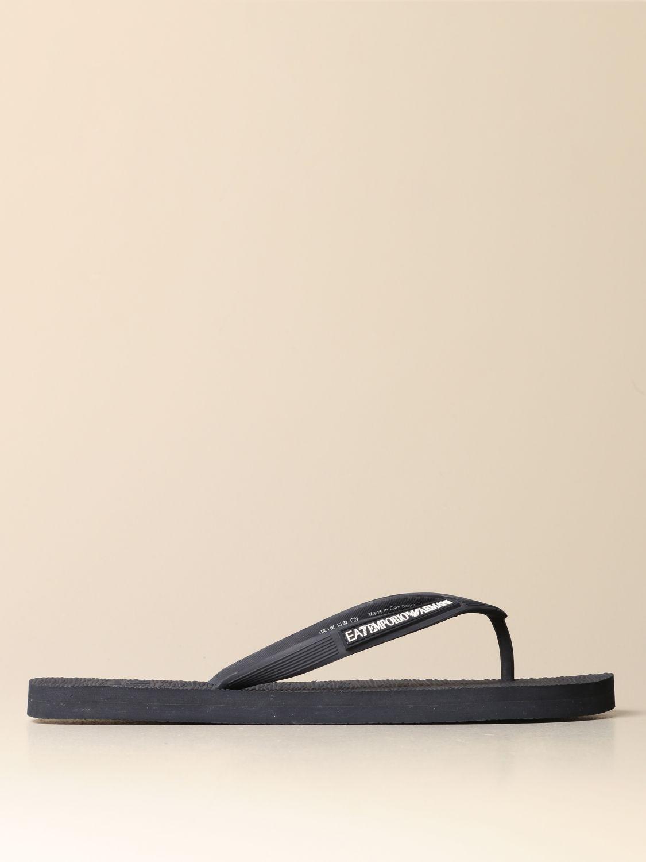 Sandalen Ea7: Sandalen herren Ea7 blau 1 1