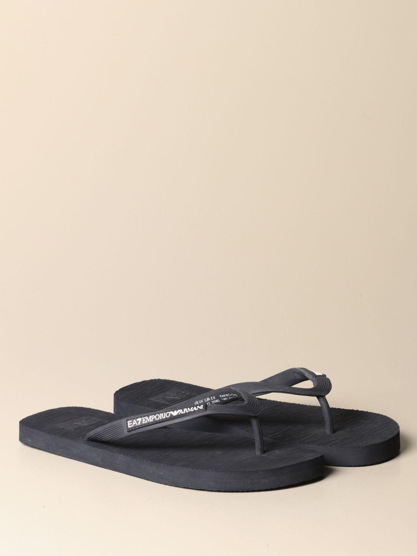 Sandalen Ea7: Sandalen herren Ea7 blau 1 2