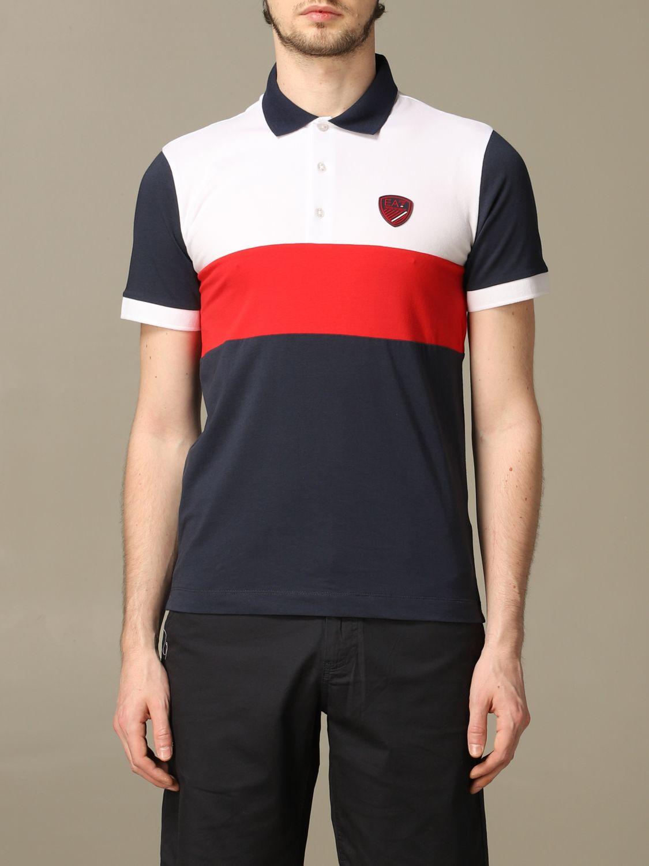 T-shirt Ea7: T-shirt men Ea7 red 1