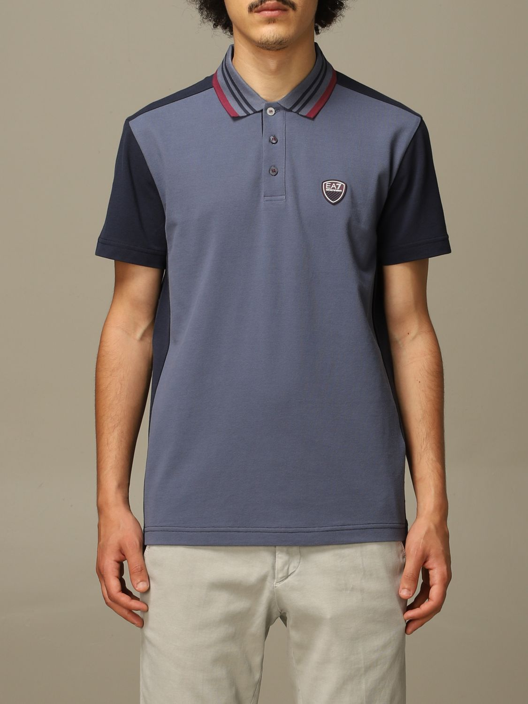 T-shirt Ea7: T-shirt men Ea7 indigo 1