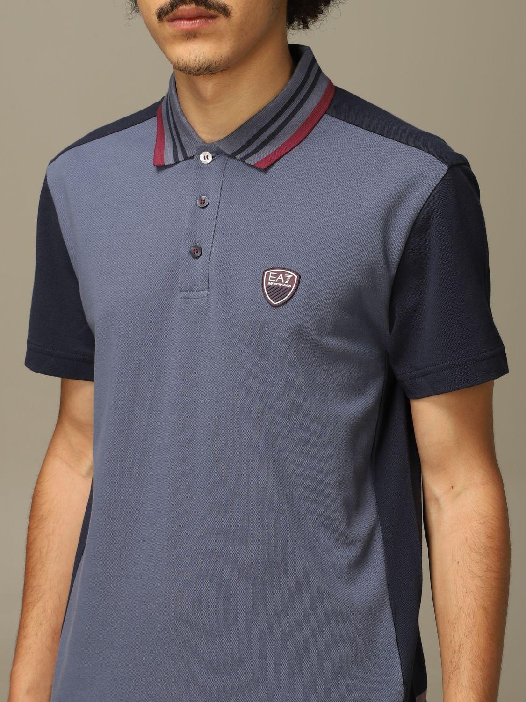 T-shirt Ea7: T-shirt men Ea7 indigo 3