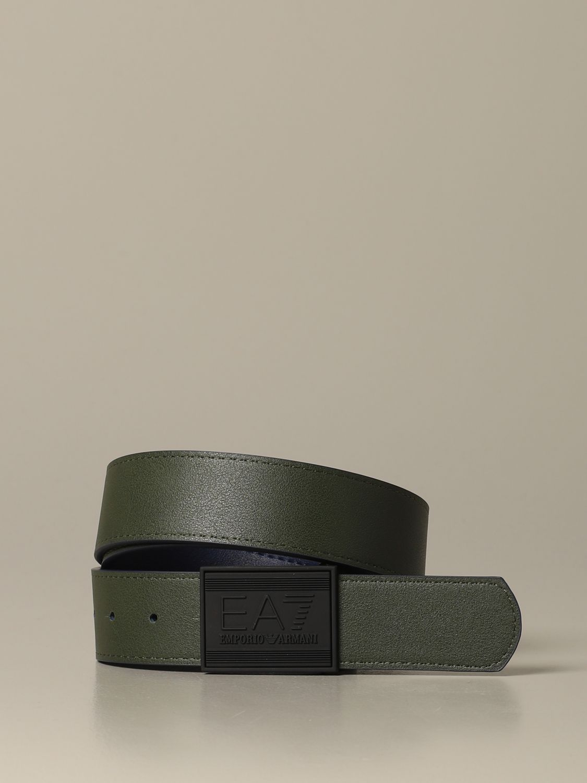 Gürtel herren Ea7 grün 2