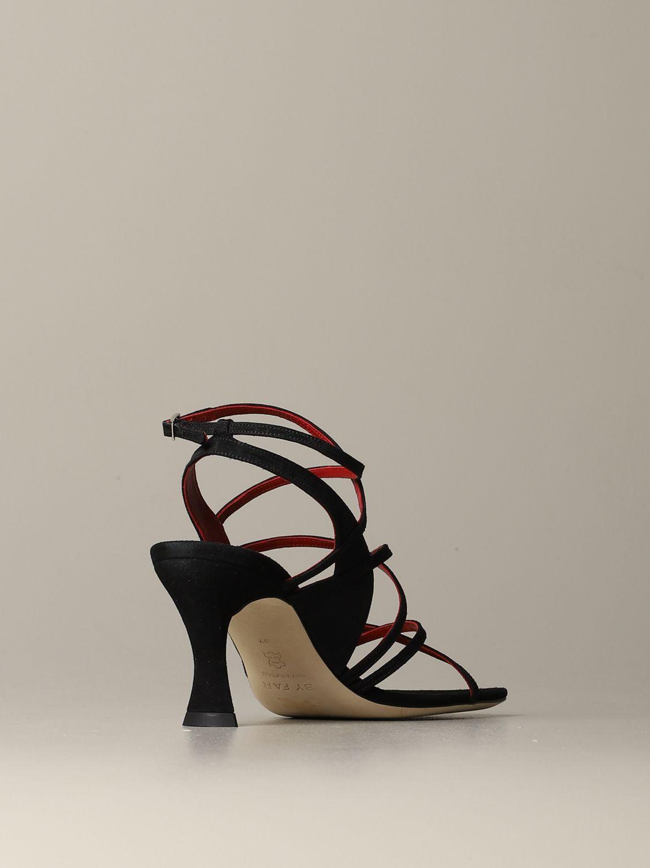 Heeled sandals women By Far black 3