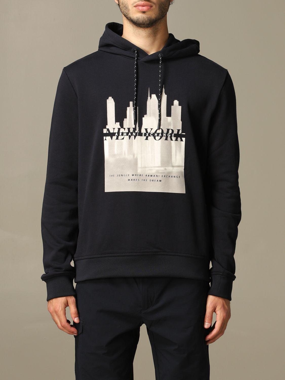 Sweatshirt men Armani Exchange navy 1