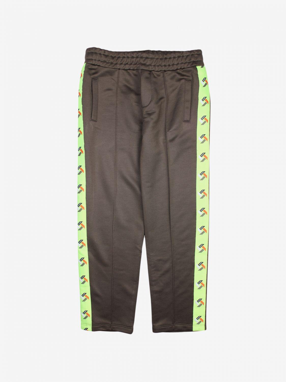 Pantalón niños Msgm Kids verde 1