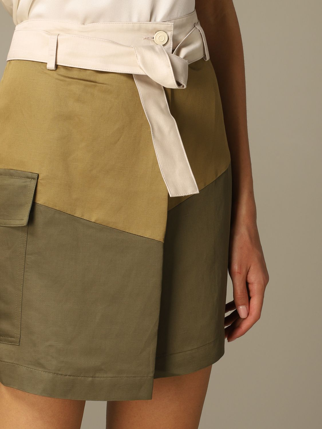 Skirt 8Pm: Skirt women 8pm military 3