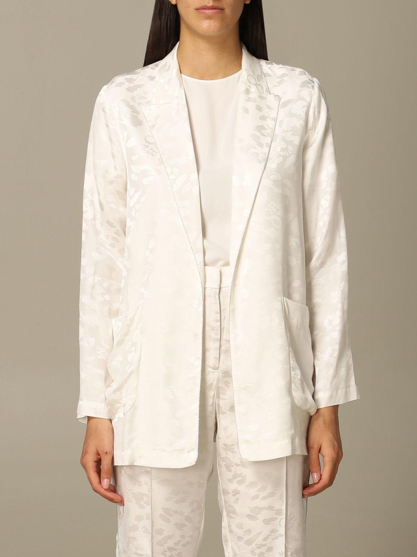Деловой костюм 8Pm: Куртка Женское 8pm белый 1