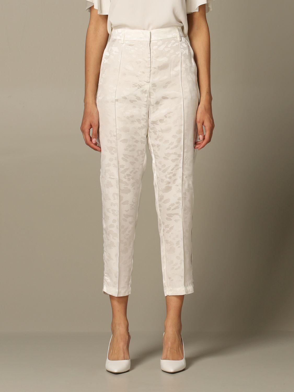 Деловой костюм 8Pm: Брюки Женское 8pm белый 1