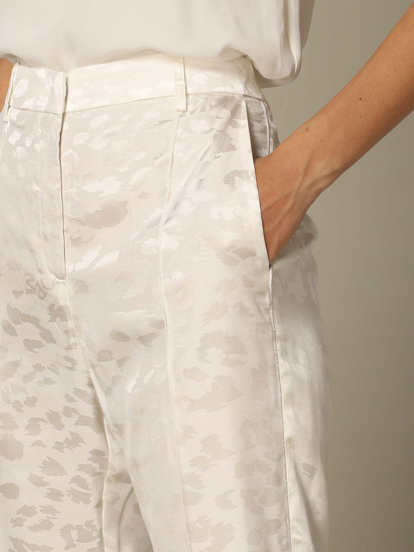 正式西装 8Pm: 裤子 女士 8pm 白色 3