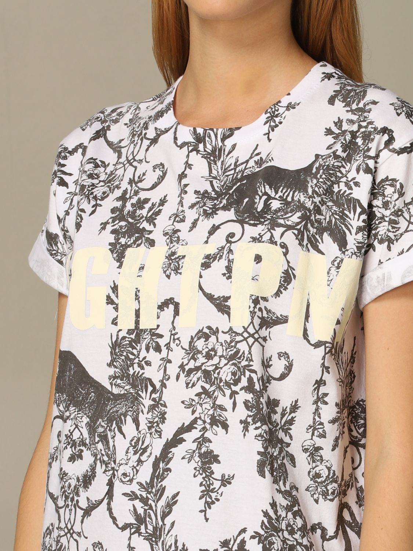 T-Shirt 8Pm: T-shirt women 8pm white 3