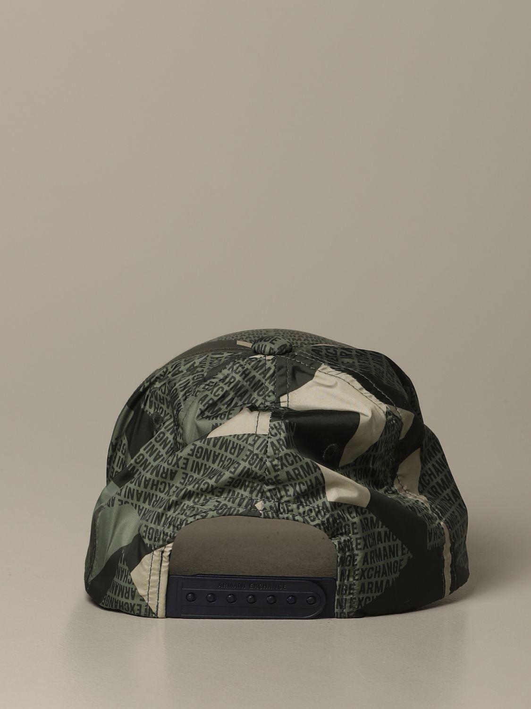 Hat Armani Exchange: Hat men Armani Exchange military 3