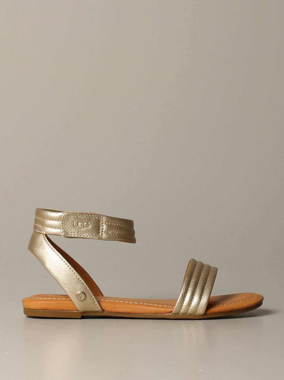 Schuhe damen Ugg Australia gold 1