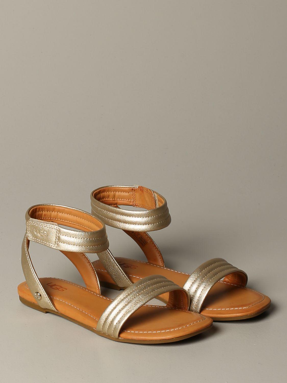 Schuhe damen Ugg Australia gold 2
